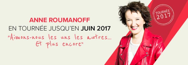 Spectacle comique: Anne ROUMANOFF