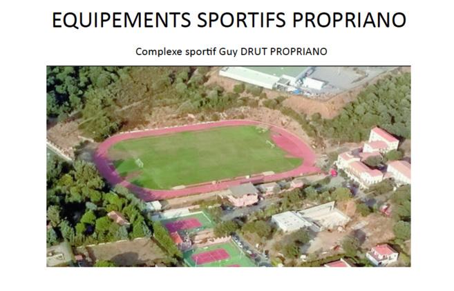 Le complexe sportif Guy DRUT
