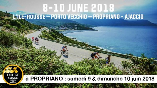La cyclostportive EXPLORE CORSICA 2018 à Propriano