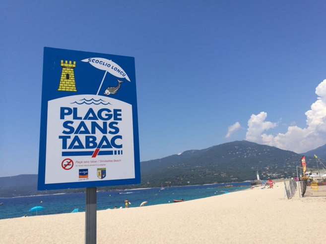 """Les plages de Propriano labellisées """"sans tabac"""""""