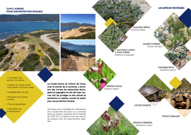 Capu Laurosu : deux projets pour une protection durable