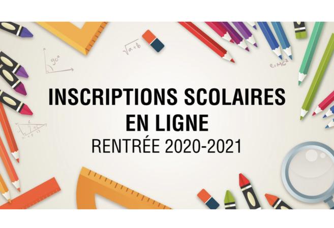 Inscription scolaire 2020-2021