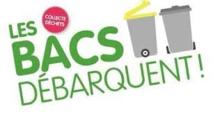 Distribution des bacs pour la mise en place de la collecte en porte a porte dans le quartier Mancinu à Propriano