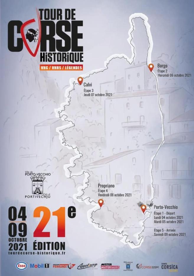 Propriano, ville étape #4 du Tour de Corse Historique 2021