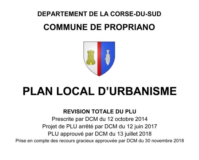 La révision du PLU (Plan Local d'Urbanisme)