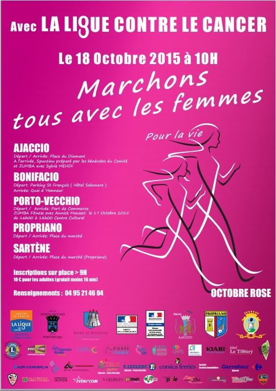 Octobre Rose : le 30/10, Marchons tous avec les femmes pour la vie