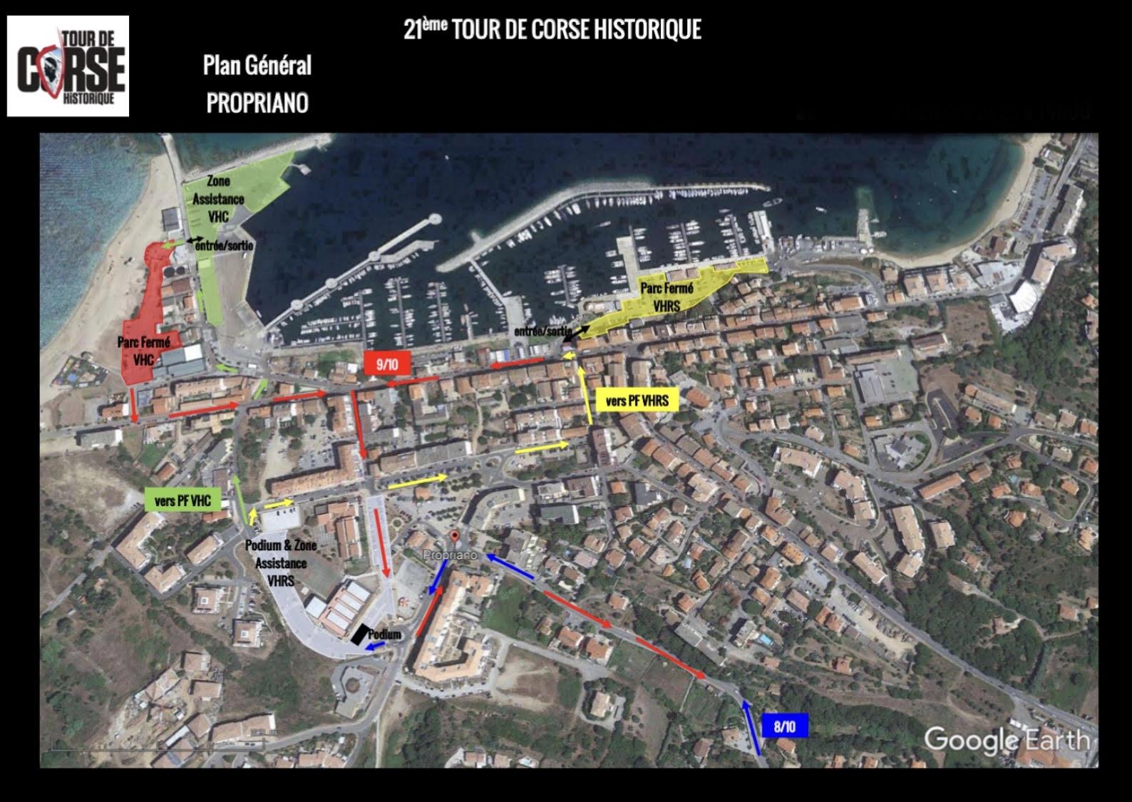 [Info Circulation ] Propriano, ville étape du Tour de Corse Historique