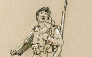 Le dessinateur Samson rend hommage aux combattants de Corse