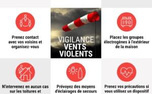 La Corse est placée en vigilance ROUGE pour vent violent