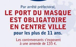 Le port du masque devient obligatoire sur les communes de Propriano et Olmeto