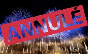 Annulation du feu d'artifice du 15 août
