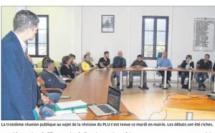 Révision du PLU : un public nombreux à la réunion publique de la phase 3