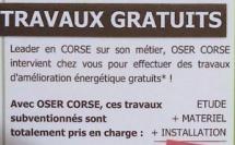 Rénovation énergétique : permanence OSER Corse