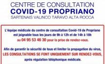 Centre de consultation Covid-19 de Propriano