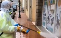 Covid-19 : Désinfection des espaces publics de Propriano