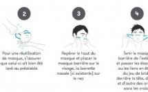 Modalités pour la distribution des masques barrières