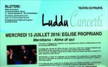Juillet 2016 > Concerts en l'Eglise de Propriano