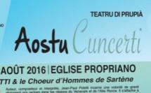 AOÛT 2016 > Concerts en l'Eglise de Propriano